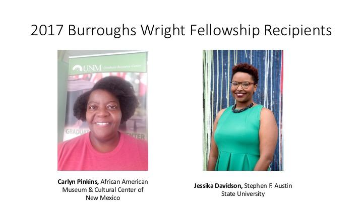2017 fellowship recipients