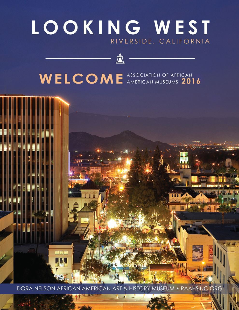 2016 AAAM Conference Booklet cover