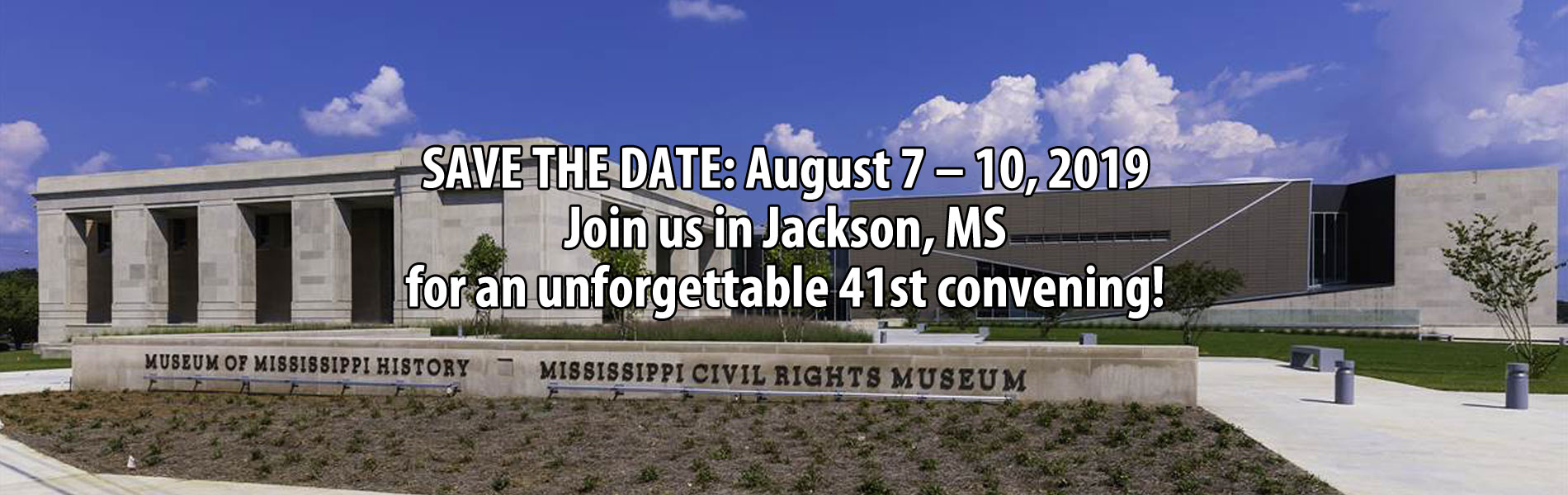 2019 Association of African American Museums in Jackson, Mississippi