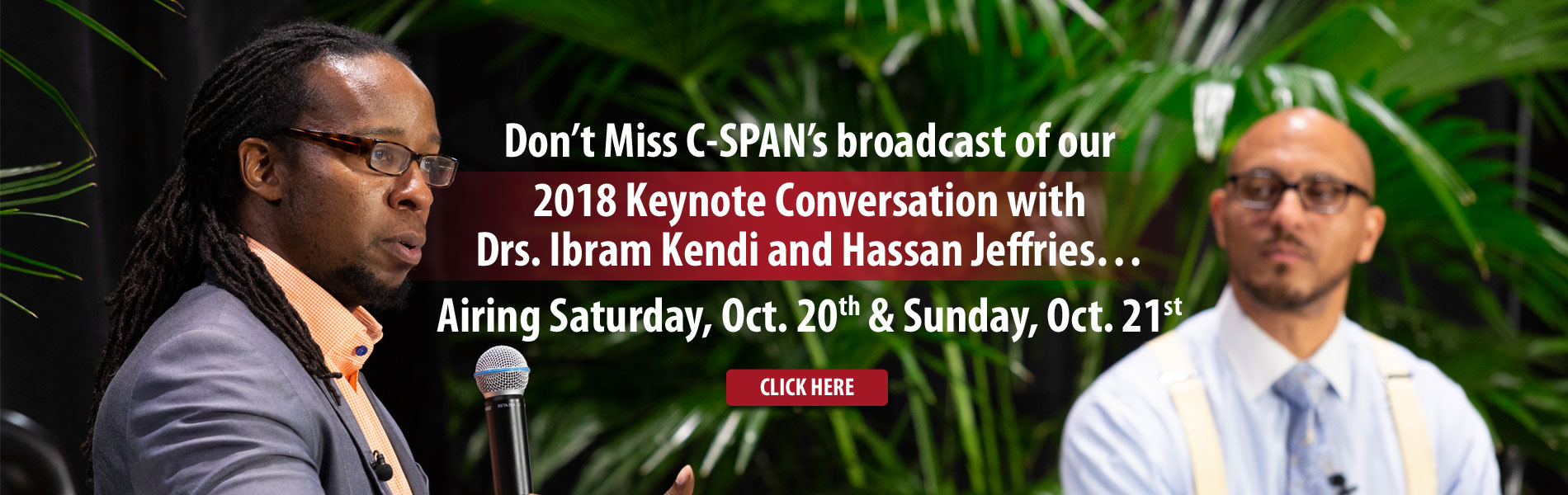 Keynote Conversation with Drs. Ibram Kendi and Hassan Jeffries