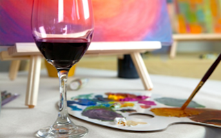 Sip And Paint Therapy Romare Bearden Visionary Artist