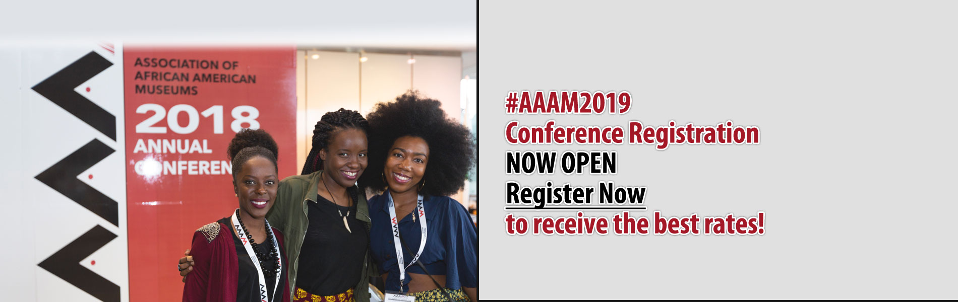 2019 AAAM Conference registration