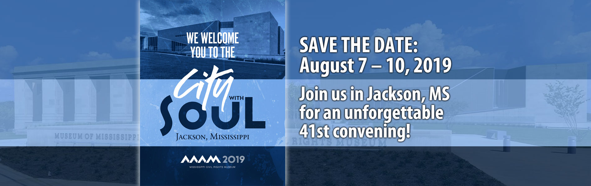 2019 AAAM Conference save the date