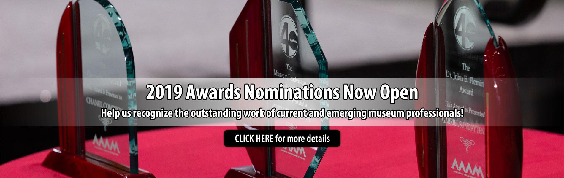 2019 Awards Nominations
