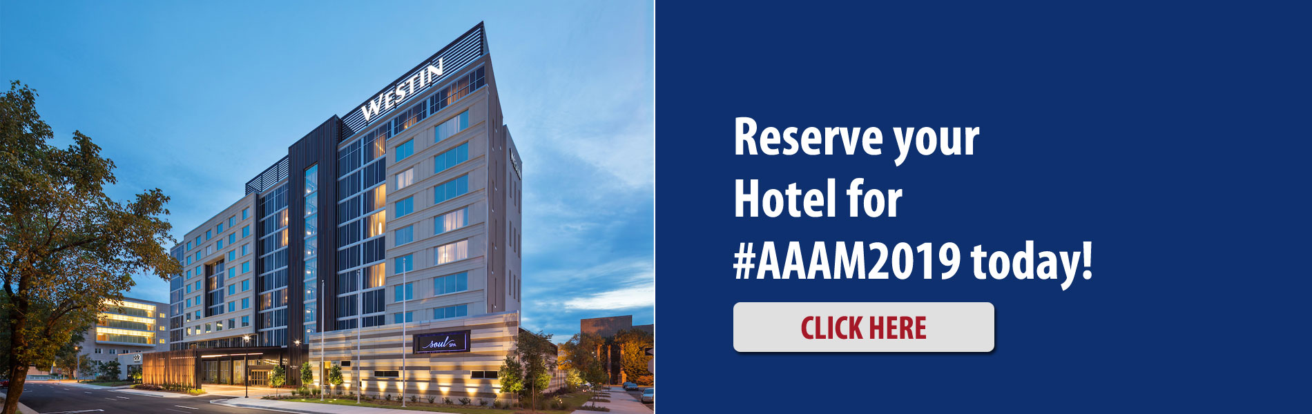 2019 AAAM Conference hotel