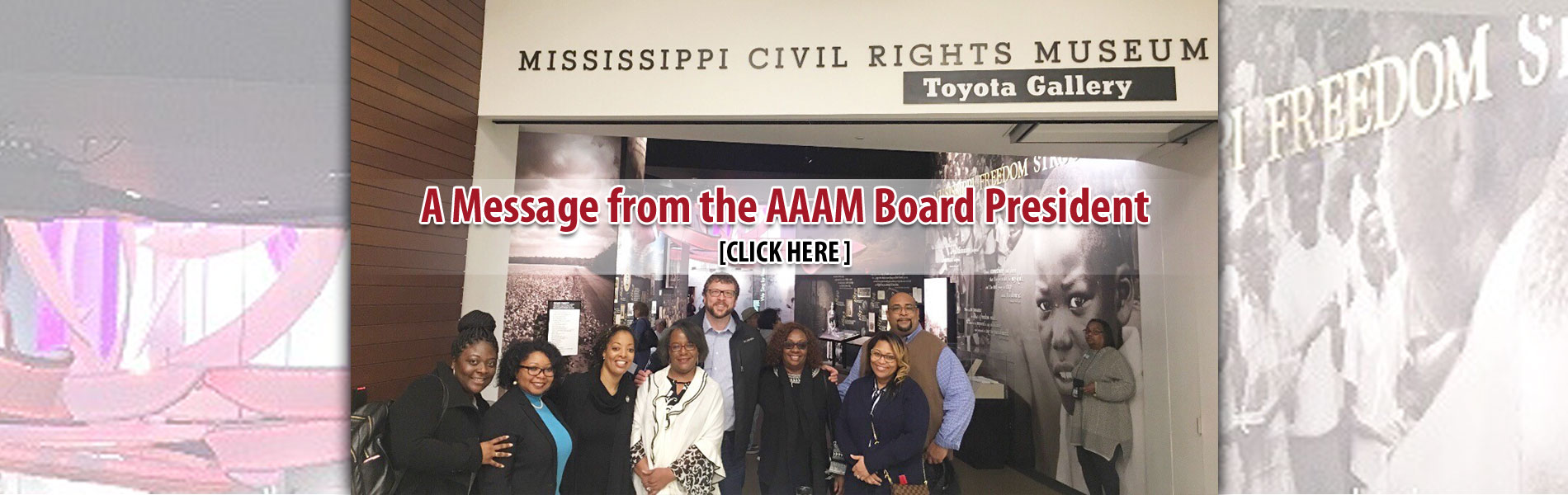 A Message from the AAAM Board President