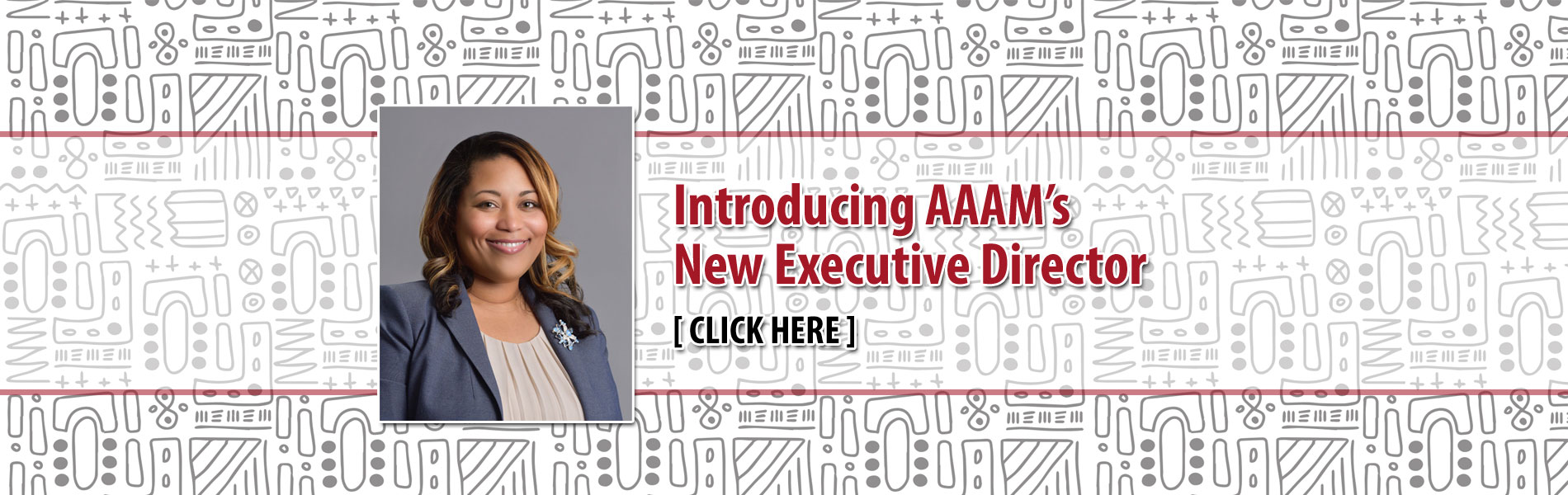 Introducing AAAM's New Executive Director