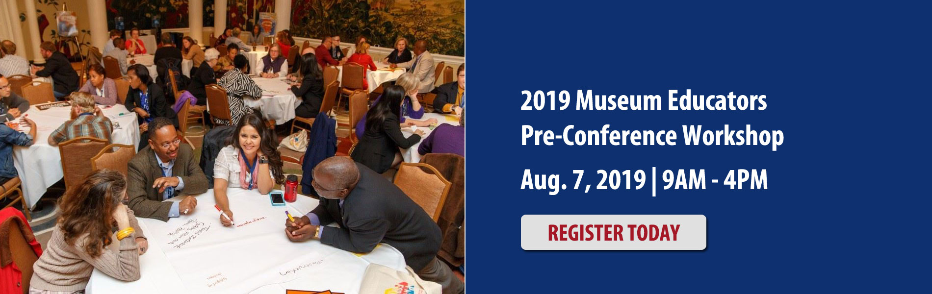 2019 Museum Educators Pre-Conference Workshop