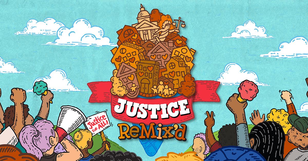 ustice Remix'd campaign image