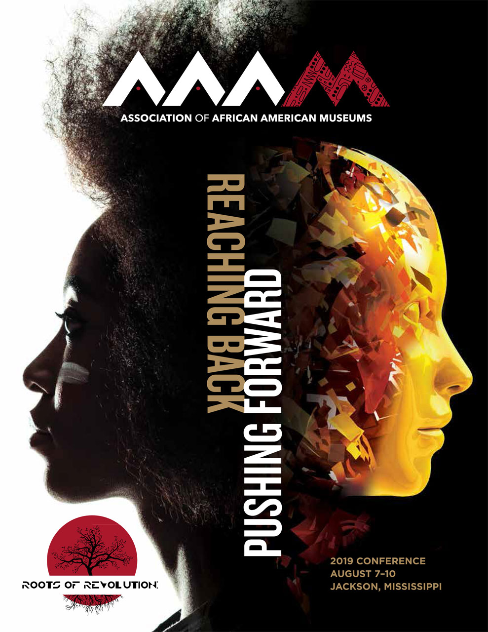 2019 Association of African American Museums conference program booklet cover