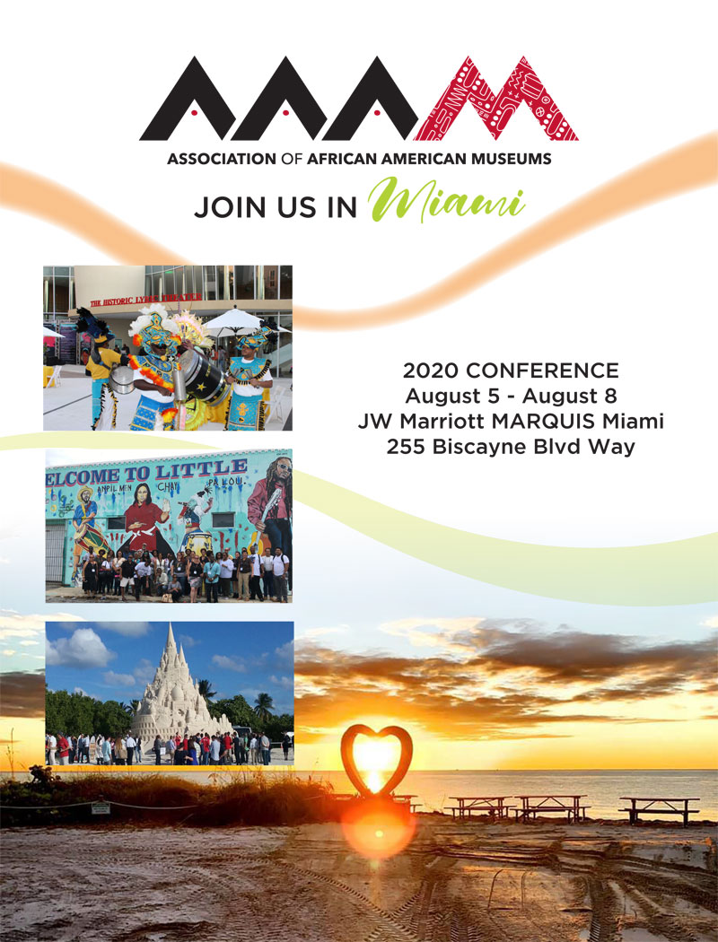 2020 AAAM conference flyer