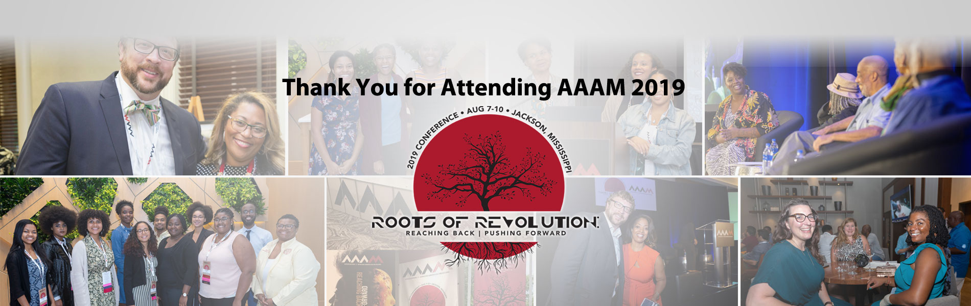 Thank you for attending AAAM 2019
