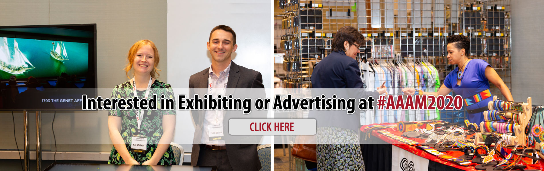 Interested in Exhibiting at AAAM 2020