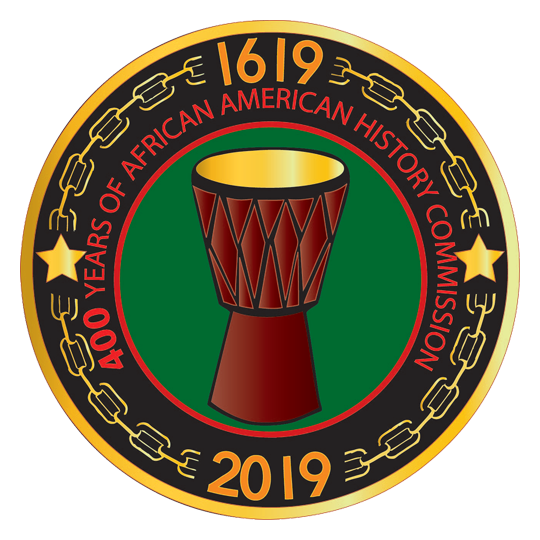 400 Years of African American History Commission logo