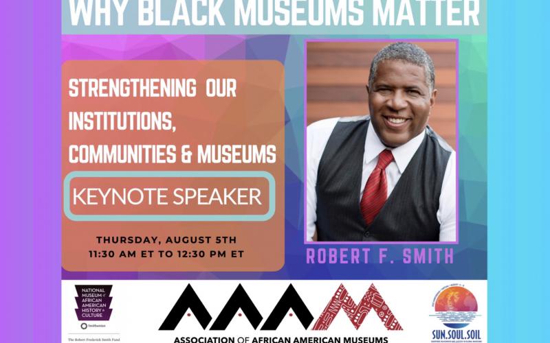 AAAM2021 Robert F. Smith Keynote Conversation