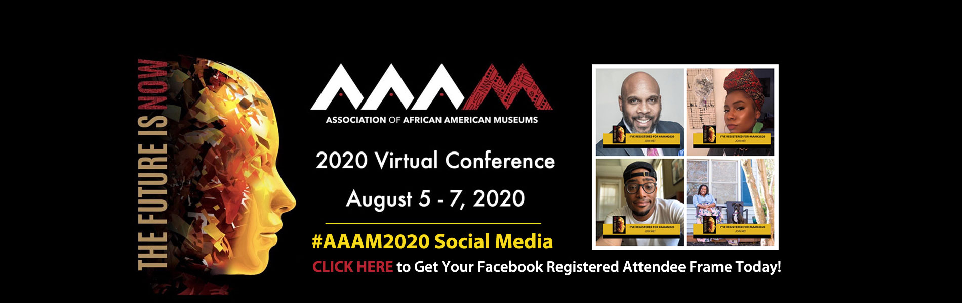 2020 AAAM conference facebook frame