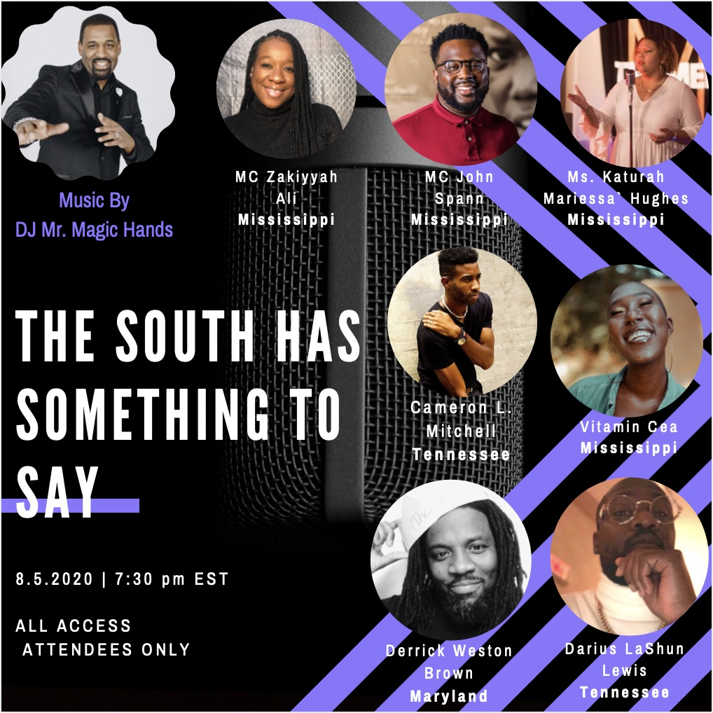 THE SOUTH HAS SOMETHING TO SAY | final flyer